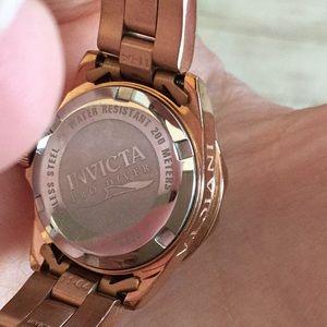 Invicta Accessories - Invicta Rose Gold Ladies Watch